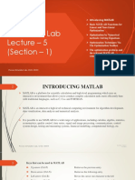 Lecture-5 (Process Simulation Lab)