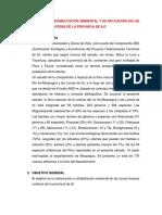 Restauración y Rehabilitacion Ambiental y Su Aplicación en Las Zonas Marinas Costera de La Provincia de Ilo (1)