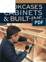 Taunton's Bookcases, Cabinets & Built-Ins by Editors of Fine Woodworking