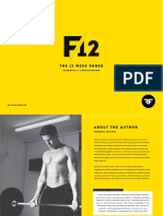 F12 Strength&Conditioning Program