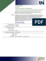 UNI en 14652 (2006) Condizionamento Filtrazione Acqua Interno Edifici. Dispositivi Separazione Membrana. Requisiti