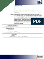 UNI en 13742-1 (2005) Tecniche Irrigazione. Impianti Fissi a Pioggia. Selezione, Progettazione, Pianificazione, Installazione