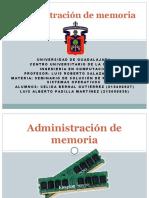 Administracion de la memoria