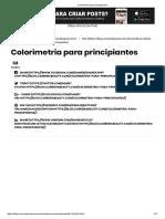 Colorimetria Para Principiantes