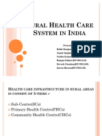 49370923 Rural Health Care System in India Ppt