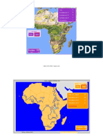 datos físicos de áfrica