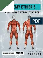 Full Body Workout B PDF