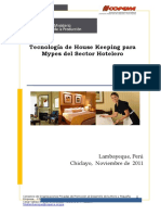 Manual de Tecnología de Housekeeping