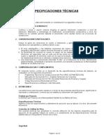 ESPECIFICACIONES TECNICAS LAPARPAMPA