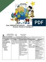 Plan de Área Naturales 2019 Tercero