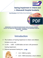 The Profile of Hearing Impairment in Infants and Children 14-2-19 (Dr. Novi)