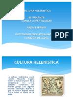Cultura Helenistica