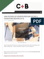 Cpiub Com 2016 02 Aida Tecnica Di Vendita