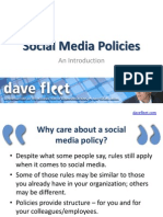 Social Media Policies ~ An Introduction