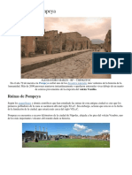 La Historia de Pompeya