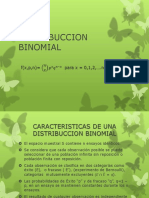 Distribuccion Binomial