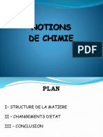 4.Notion de Chimie