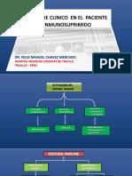 DX clinico del paciente inmunosuprimido