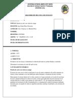 Lab 1A Prueba de Corte Con Veleta de Campo