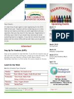 PCAS Newsletter 3-08-2019