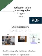 EMSA 30A - Ion Chromatography 1 (Intro)
