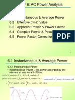 Topic 6. AC Circuit Analysis