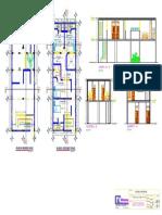 Arquitectura A2-Cortes y Elevaciones