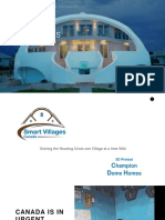 3D Dome Homes-Smart Villages Canada