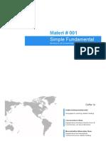 Mentoring Forex Simple Fundamental