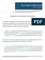 Jurisprudência Em Teses 03 - Concursos Públicos IISuspensão Condicional Do Processo