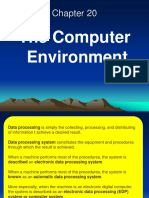 Chapter 20 the Computer Environment