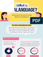 What is paralanguage infographics