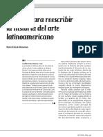 Apuntes Para Reescribir La Historia Del Arte Latinoamericano Ramos Cruz