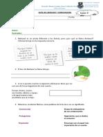 Guía de Lenguaje y Comunicación El Pirata Baarba Azul