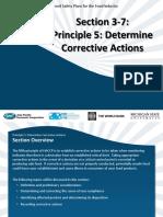 SCM 15 Section 3-7 HACCP Principle 5-Corrective Actions 6-2012-English