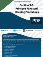 SCM 17 Section 3-9 HACCP Principle 7-Record-Keeping Procedures 6-2012-English
