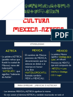 MEXICAS - AZTECAS