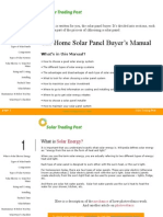 Solar Electric Panel Manual