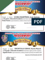 Diplomas Marisol 2017