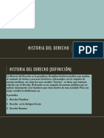 Historia Del Derecho 1