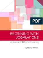 Beginning with joomla