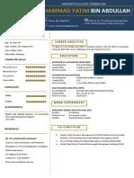 free resume dark blue version-converted