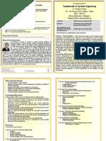 Fundamentals of system engineering
