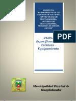 04.06 Especificaciones Tecnicas - Equipamiento.docx