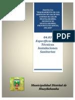 04.03 Especificaciones Tecnicas Inst. Sanitarias.docx