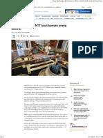 Motif Etnik Tenun NTT Buat Banyak Orang Melirik