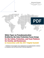 White Paper Pseudonymisiation