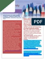 rivali k literacy newsletter  1