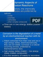 Lecture 2. Thermodynamic Aspect of Corrosion Reactions