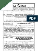 La Vertu Volume1 Issue5
